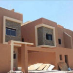 Exterior paints for the facade of houses in Jeddah