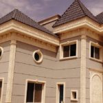 Modern and modern exterior paints for palaces in Jeddah