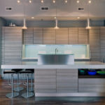 Modern and modern kitchen paints in Jeddah