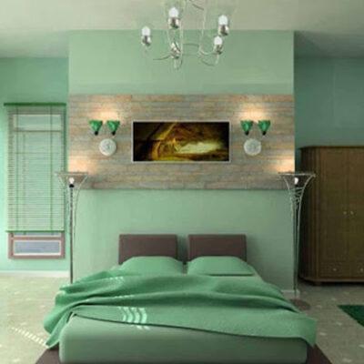 دهانات داخلية لحوائط غرف النوم في جدة 2018